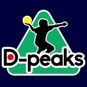ドッジボールピークスのロゴ。